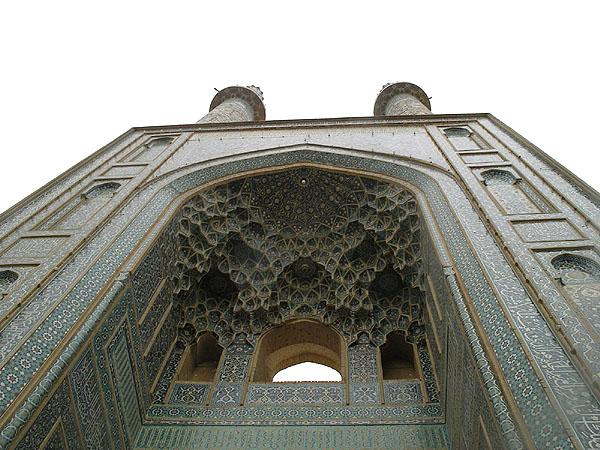 Под сводами минаретов Jameh / Фото из Ирана