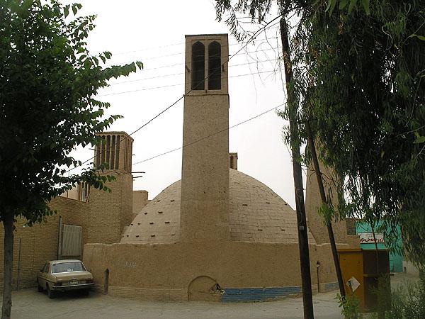 Водонакопительное сооружение в Старом городе Йезда / Фото из Ирана