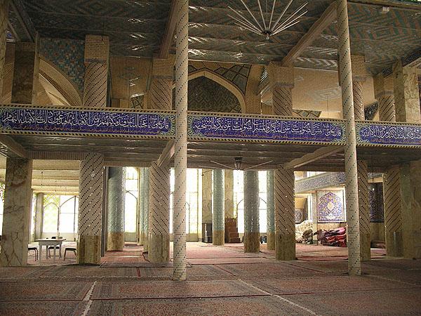 Внутри мечети Hazireh / Фото из Ирана