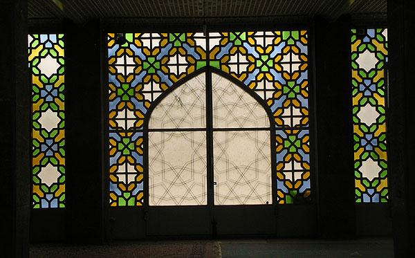 Витражи мечети Hazireh / Фото из Ирана