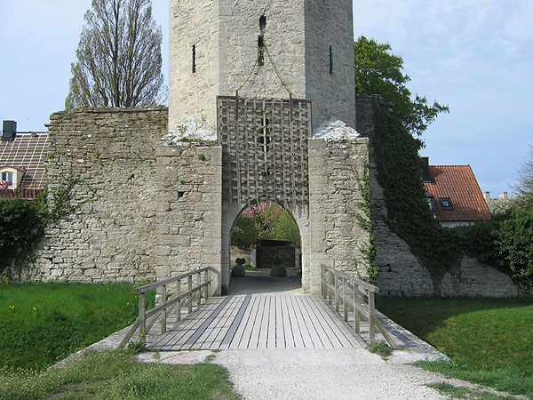 Ворота в замок / Фото из Швеции