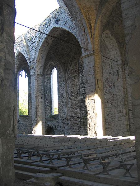 Руины церкви в Висбю / Фото из Швеции