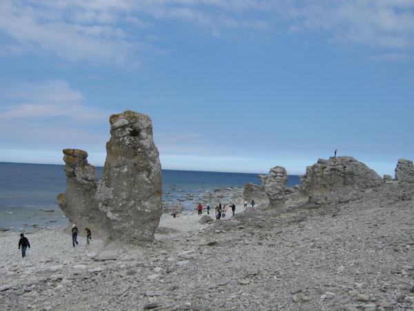 Берег раукаров в Форё / Фото из Швеции