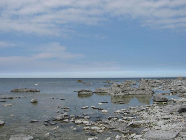 Нереальный морской пейзаж на Форё / Фото из Швеции