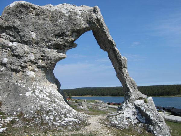 Самый знаменитый камень в Лерграве / Фото из Швеции