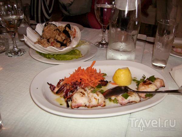 Традиционная греческая кухня - это отдельная... / Фото из Греции