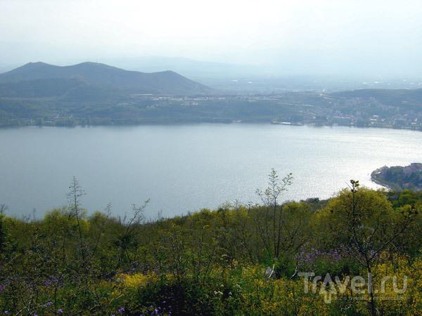 Высокогорное озеро Орестиада / Фото из Греции