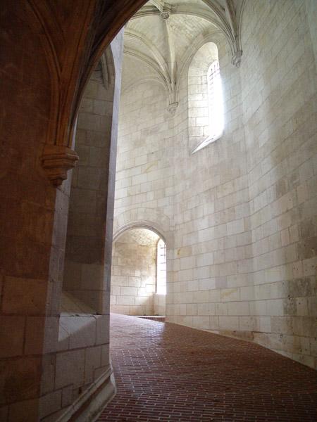 Пандус внутри башни / Фото из Франции