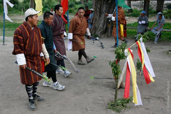 Жители Бутана - открытые и гостеприимные люди / Фото из Бутана