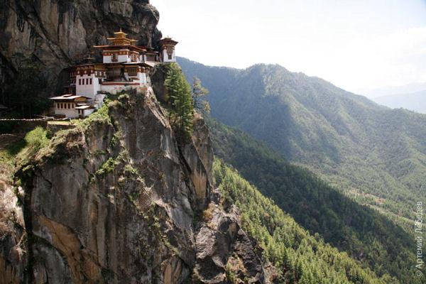 Город на горе / Фото из Бутана