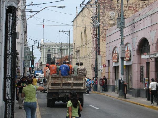 Улицы Мериды / Фото из Мексики