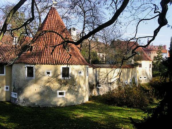 Замковая стена / Фото из Чехии