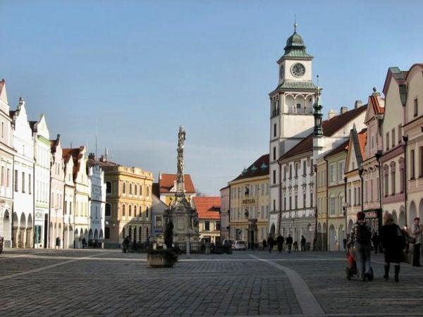 Ратушная площадь (площадь Масарика) / Фото из Чехии