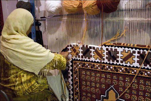 Кайруан славится своими коврами / Фото из Туниса