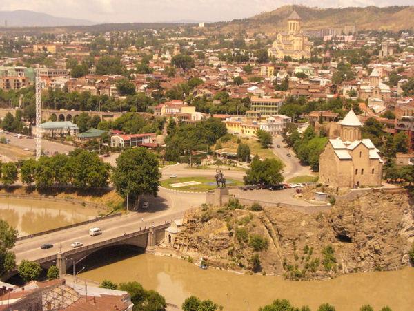 Вид Тбилиси / Фото из Грузии