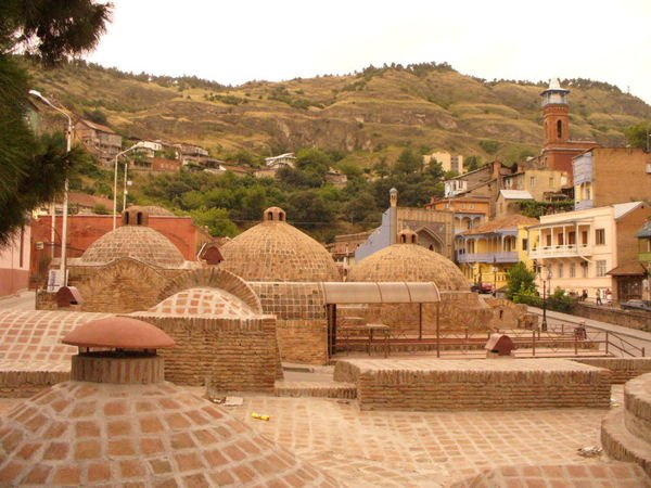 Знаменитые Тифлисские бани / Фото из Грузии