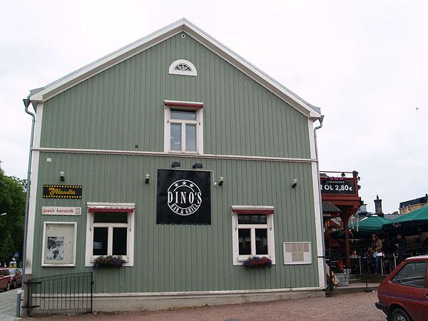Рок-бар Dino's / Фото из Финляндии