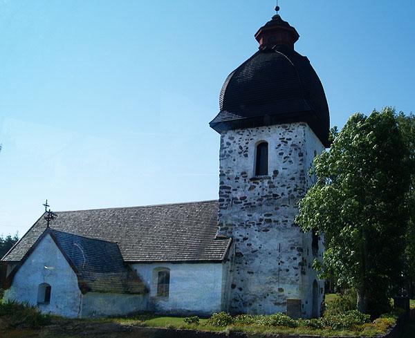 Церковь в Вордё / Фото из Финляндии