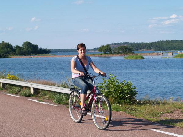 На велосипеде по бескрайним просторам / Фото из Финляндии