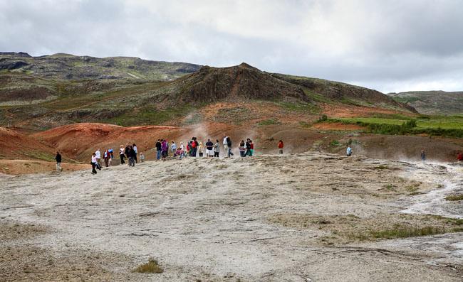 Гейзер Geysir / Фото из Исландии