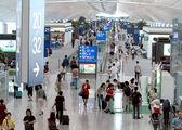 Основной вестибюль Терминала1 / Гонконг - Сянган (КНР)