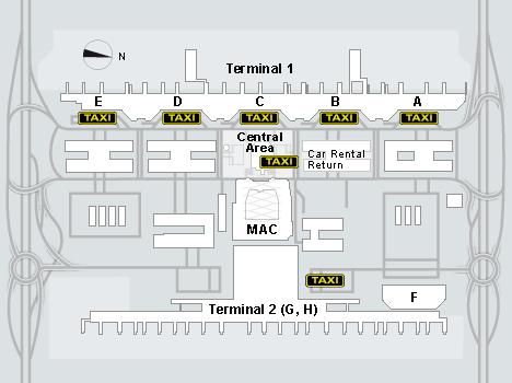 Находится центр проката автомобилей в центральной зон...  Прокат автомобилей в аэропорту Мюнхена.
