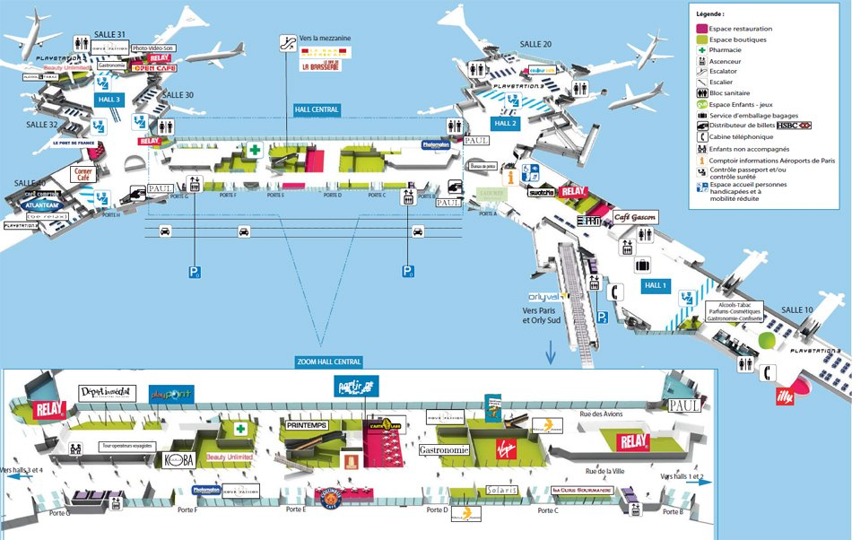 Схема Терминала Ouest /
