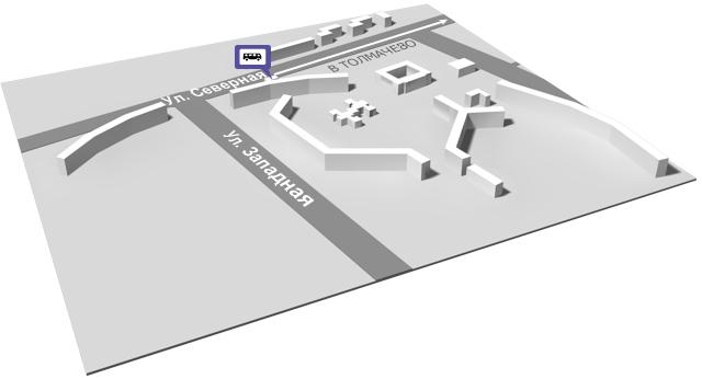 Расписание движения автобуса 124 от привокзальной площади аэропорта Толмачево.