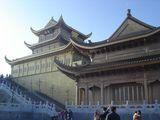 храмовый комплекс на вершине / Китай
