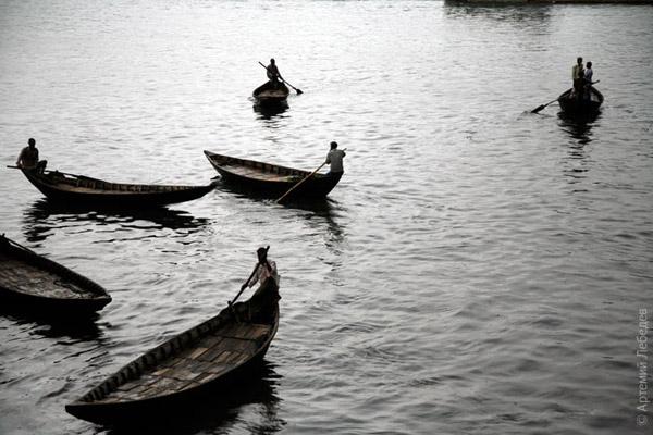 Лодки / Фото из Бангладеш