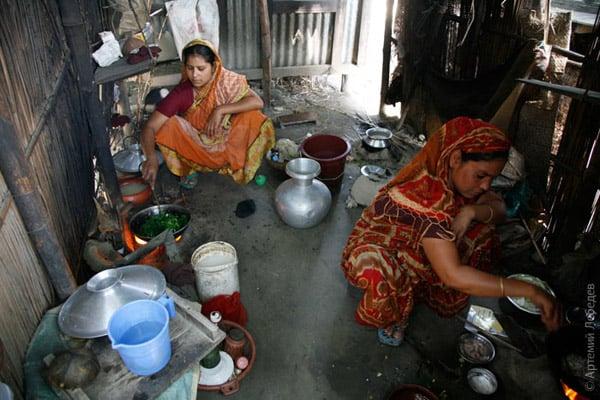 Коммунальная кухня / Фото из Бангладеш