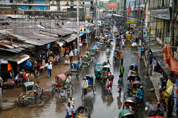 Велорикши / Фото из Бангладеш