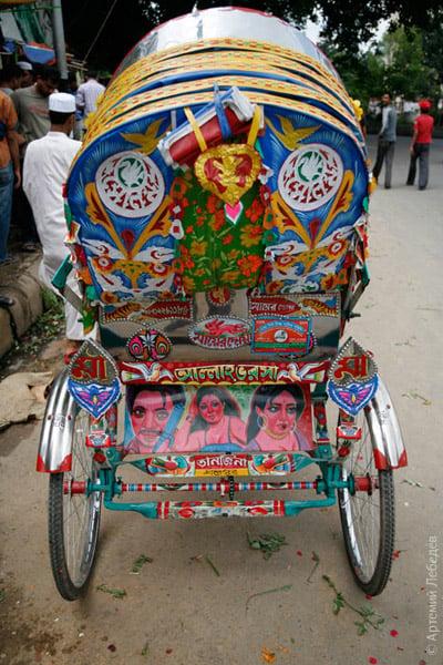 Украшенная кибитка / Фото из Бангладеш