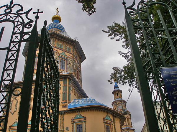 Собор Петра и Павла построен в честь приезда в Казань Петра I / Фото из России