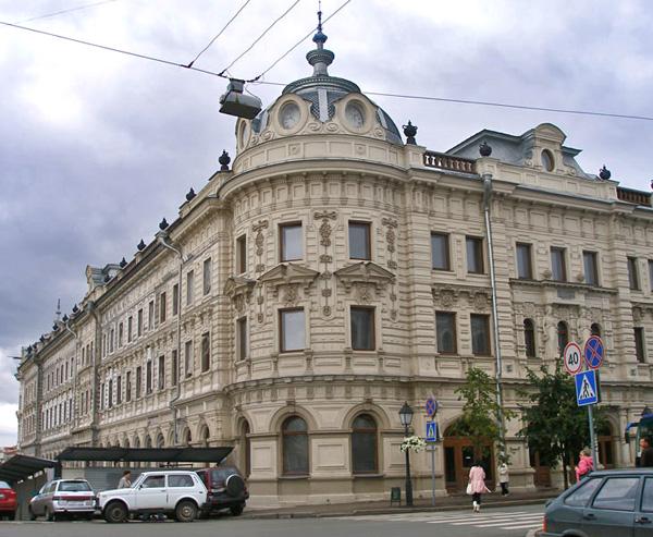 Александровский пассаж должен был стать городским музеем / Фото из России