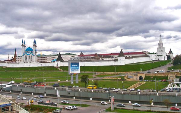 Кремль - древнейшая достопримечательность Казани / Фото из России