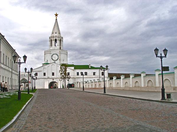 В Казанском кремле есть своя Спасская башня / Фото из России