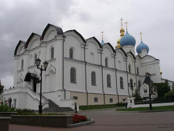 Благовещенский  собор был главным храмом Казанской епархии / Фото из России