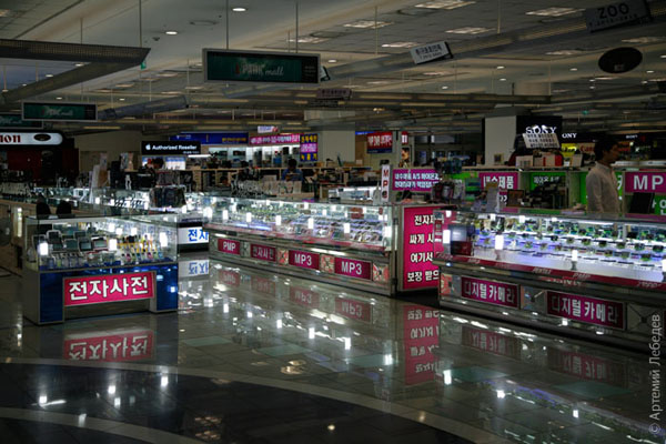 Магазин электроники / Фото из Южной Кореи
