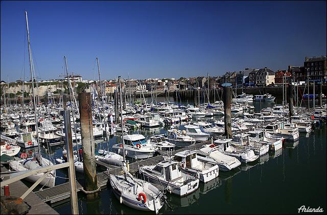 Яхты в Дьепе / Фото из Франции