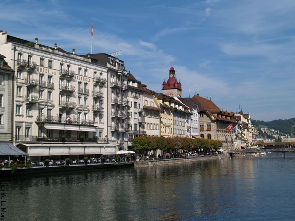 Набережная Люцерна / Фото из Швейцарии