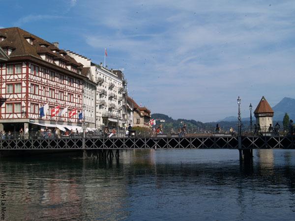 Пешеходный мост / Фото из Швейцарии