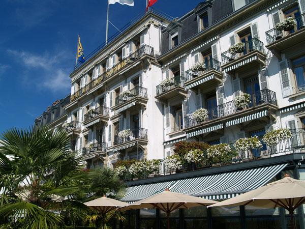 Des Trois Couronnes - лучший отель в Веве / Фото из Швейцарии