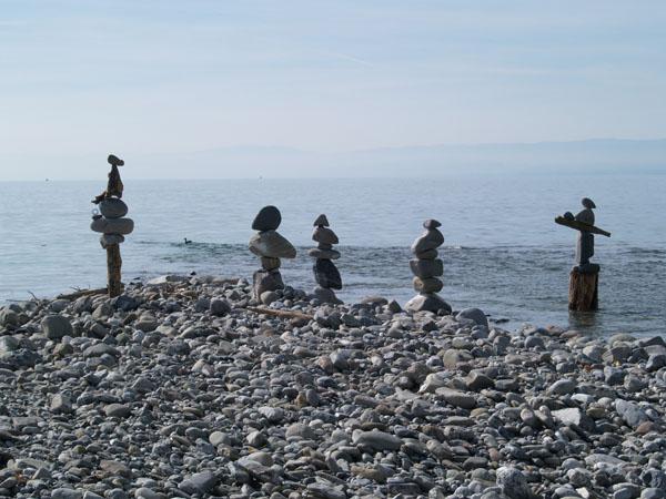 Сюрреализм на берегу Женевского озера / Фото из Швейцарии