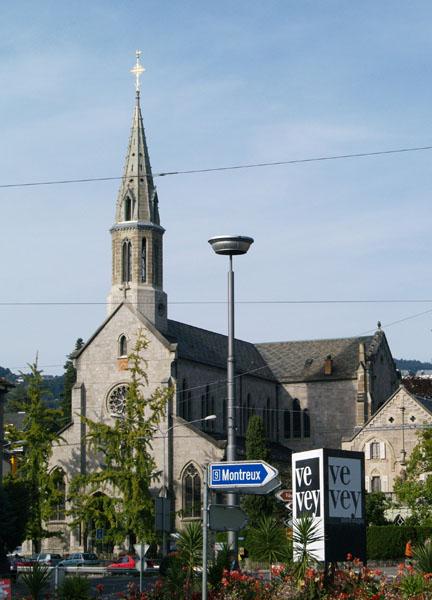 Церковь Нотр-Дам в Веве / Фото из Швейцарии