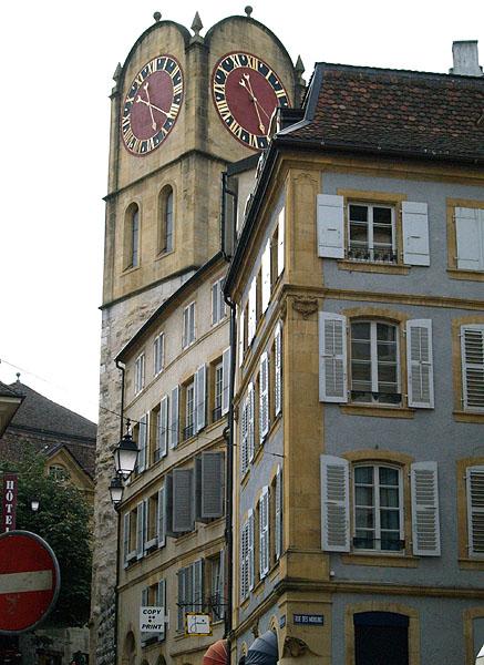 Часовая башня / Фото из Швейцарии