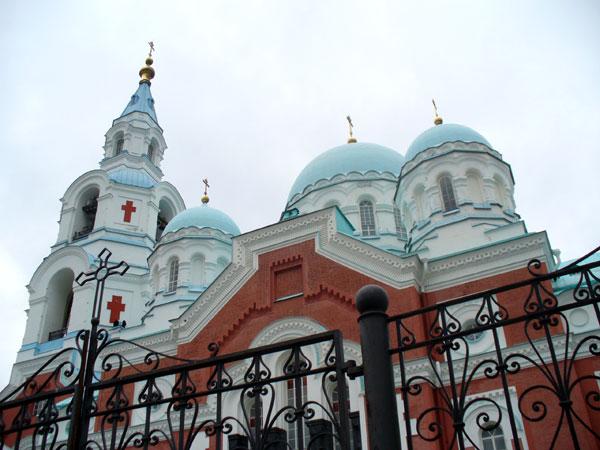 Спасо-Преображенский собор в центральной усадьбе Валаамского монастыря / Фото из России