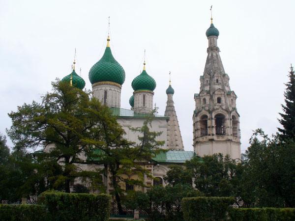 Церковь Ильи Пророка в историческом центре Ярославля / Фото из России.