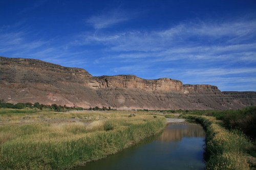 Река Оранжевая / Намибия