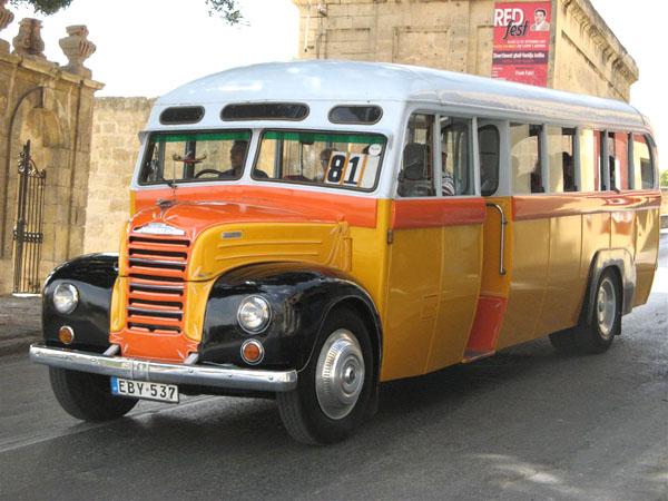 Легендарный автобус Leyland на Мальте / Фото с Мальты